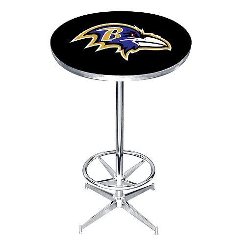 Baltimore Ravens Pub Table