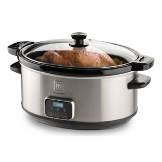Toastmaster 7-qt. Digital Slow Cooker with Locking Lid