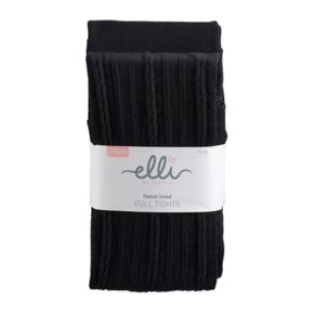 Girls 4-14 Elli by Capelli 2-pk. Cable Knit Fleece Tights