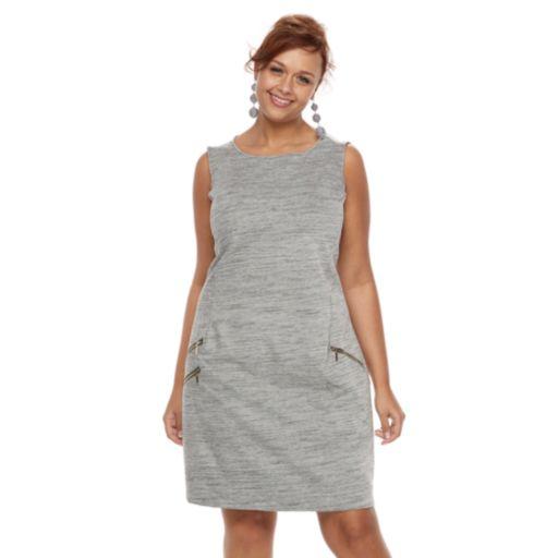 Plus Size Apt. 9® Zipper Dress