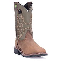 John Deere Men's Western Work Boots - JD4716