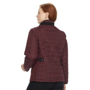 Plus Size Weathercast Quilted Midweight Jacket
