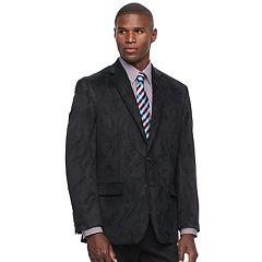 Men's Chaps Classic-Fit Faux-Suede Stretch Sport Coat