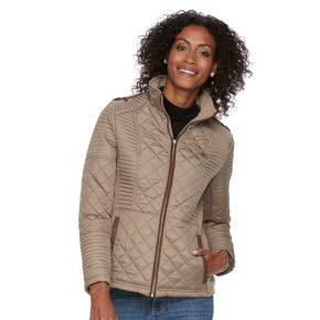 Women's Weathercast Quilted Midweight Side-Stretch Jacket