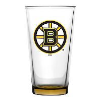 Boelter Boston Bruins Embossed Pint Glass