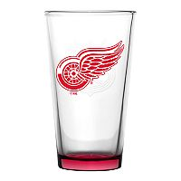 Boelter Detroit Red Wings Embossed Pint Glass