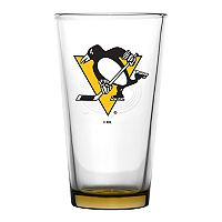 Boelter Pittsburgh Penguins Embossed Pint Glass