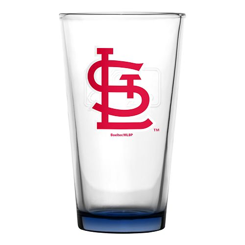 Boelter St. Louis Cardinals Embossed Pint Glass
