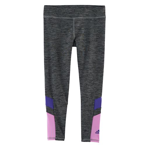 Girls 4-6x adidas Climalite Space-Dye Tights
