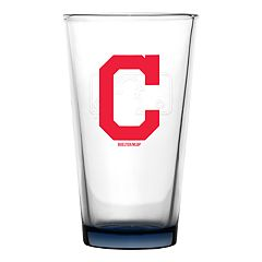 Boelter Cleveland Indians Embossed Pint Glass