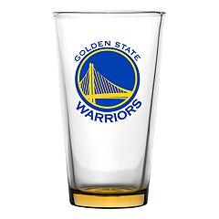 Boelter Golden State Warriors Embossed Pint Glass