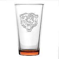 Boelter Chicago Bears Embossed Pint Glass