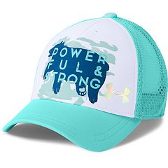 Girls 4-16 Under Armour Pro Fit 'Powerful & Strong' Bear Trucker Cap