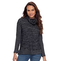 Petite SONOMA Goods for Life™ Cowlneck Sweater