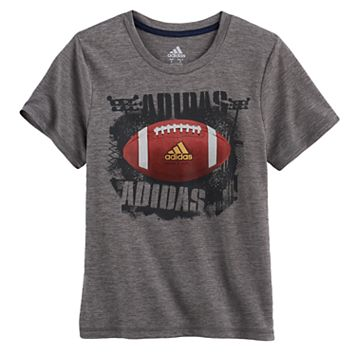 Boys 4-7x adidas Climalite Football Graphic Tee