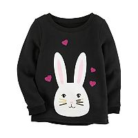 Girls 4-8 Carter's Bunny Sweatshirt