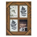 "New View Farmhouse 4-Opening 4"" x 6"" Collage Frame"