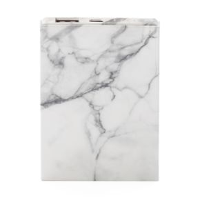Faux Marble Portable Phone Charger
