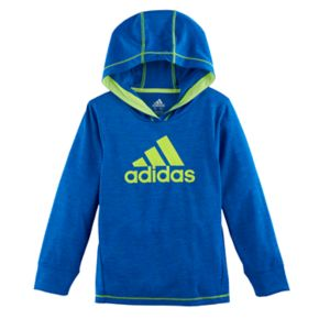 Boys 4-7x adidas Climalite Hooded Graphic Pullover