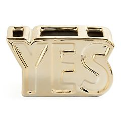 'Yes' Desk Organizer