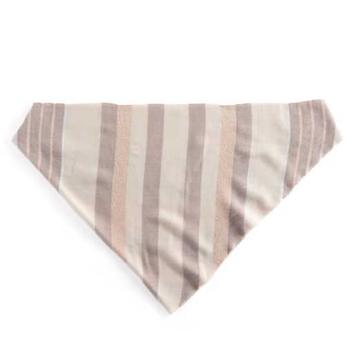 Candie's® Striped Metallic Triangle Scarf