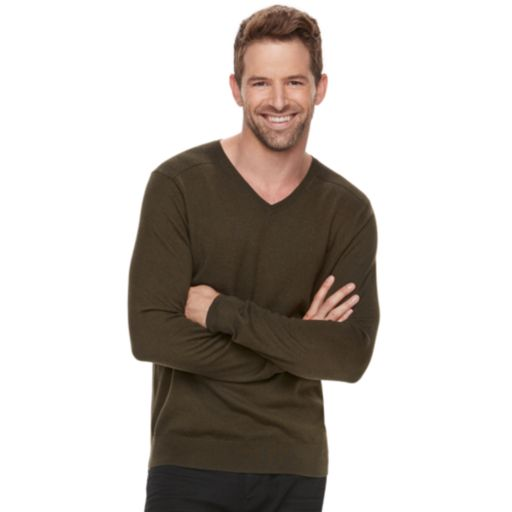 Men's Marc Anthony Slim-Fit Soft-Touch Modal V-Neck Sweater