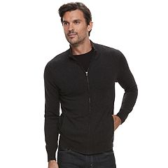 Men's Marc Anthony Slim-Fit Soft-Touch Modal Full-Zip Mockneck Sweater