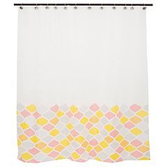 Kenney Ashley Muted PEVA Shower Curtain Liner