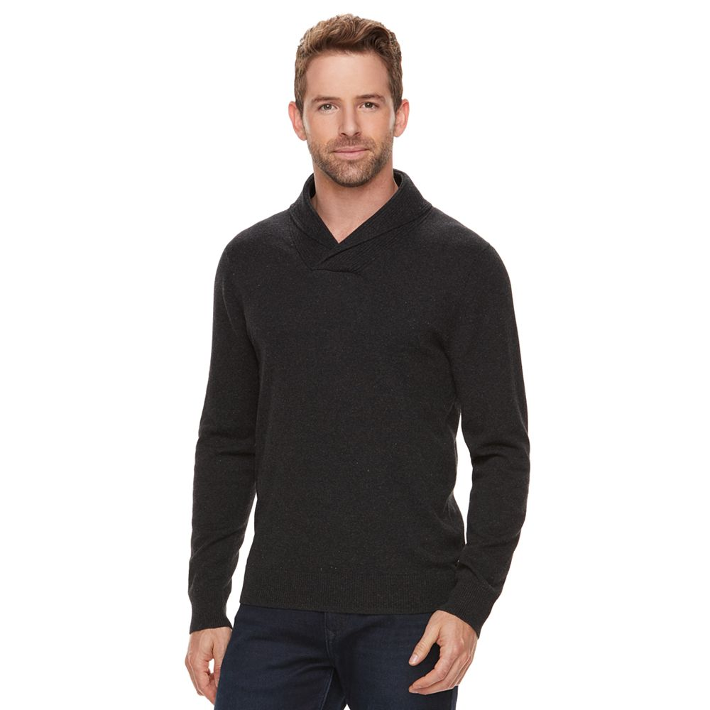 Marc Anthony Slim-Fit Soft-Touch Shawl-Collar Sweater