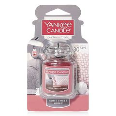 Yankee Candle Car Jar Home Sweet Home Air Freshener