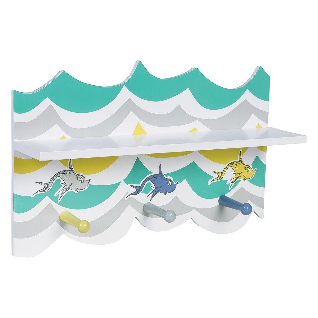 Trend Lab Dr. Seuss New Fish Wall Shelf