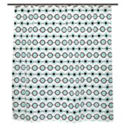 Kenney Lots of Dots PEVA Shower Curtain Liner