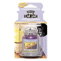 Yankee Candle Car Jar Lemon Lavender Air Freshener