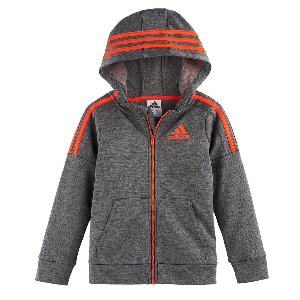 Boys 4-7x adidas Hooded Jacket