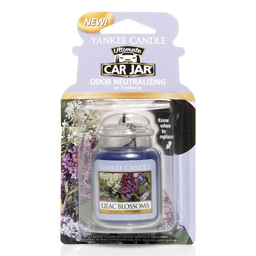 Yankee Candle Car Jar Lilac Blossoms Air Freshener