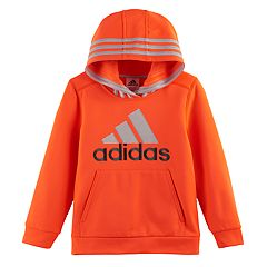 Boys 4-7x adidas Logo Graphic Hooded Pullover