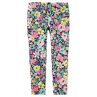 Girls 4-6X Carter's Floral Print Leggings