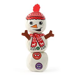 Snowman Juggling Balls