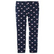 Girls 4-8 Carter's Butterfly Print Leggings