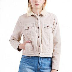 Women's Levi's® Sherpa-Lined Trucker Jacket