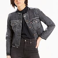 Women's Levi's® Raw-Edge Denim Jacket