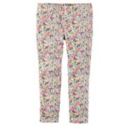 Girls 4-8 Carter's Floral Print Leggings