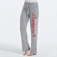 Women's Concepts Sport Wisconsin Badgers Reprise Lounge Pants