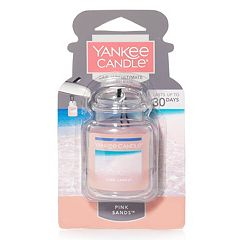 Yankee Candle Car Jar Pink Sands Air Freshener