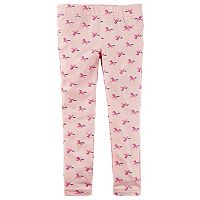 Girl's 4-8 Carter's Print Leggings