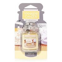 Yankee Candle Car Jar Vanilla Cupcake Air Freshener