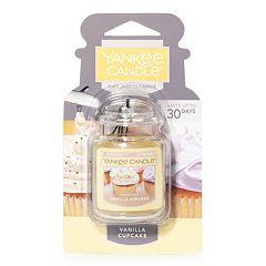 Yankee Candle Car Jar Vanilla Cupcake Air Freshener
