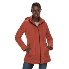 Women's Weathercast Hooded Quilted Midweight Jacket