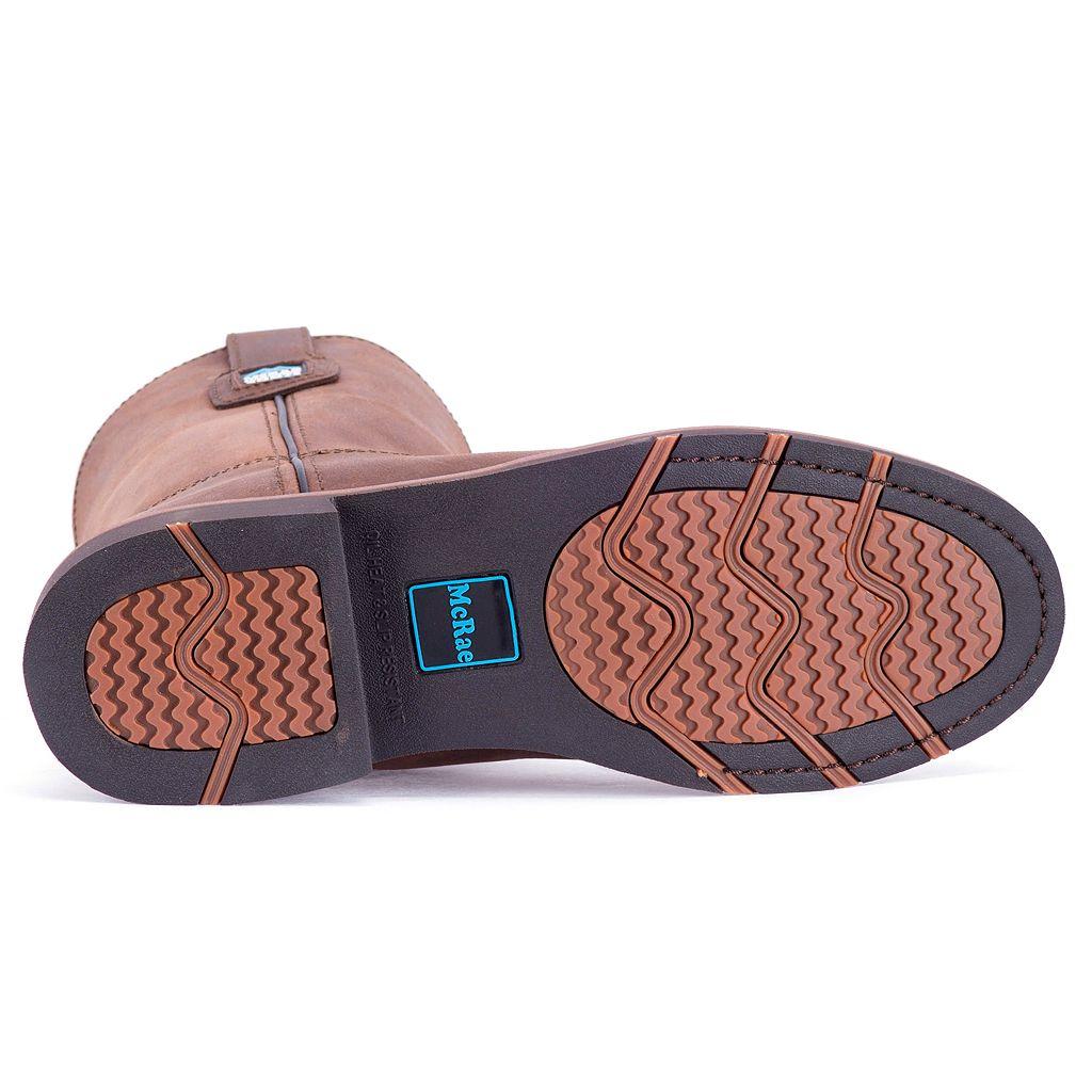 McRae Men's Steel Toe Work Boots - MR85384