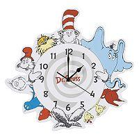 Trend Lab Dr. Seuss & Friends Wall Clock